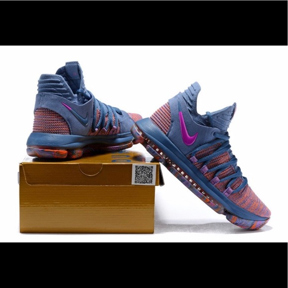 6e79eecf4032 NIKE ZOOM KD 10 LMTD ALL STAR MEN SIZE 10 OCEAN